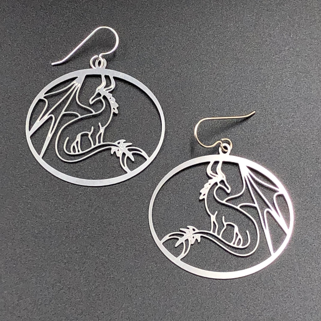 Magical Menagerie Dragon Earrings