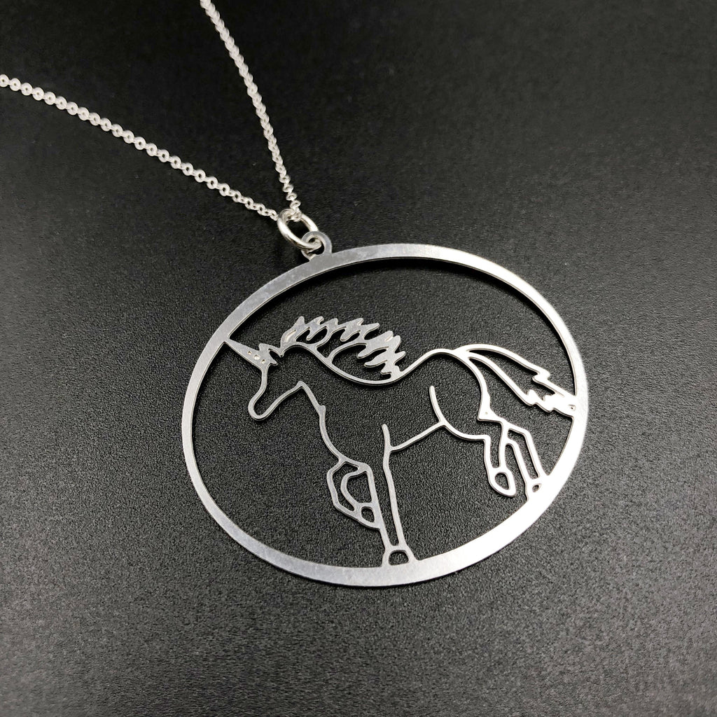 Magical Menagerie Unicorn Necklace
