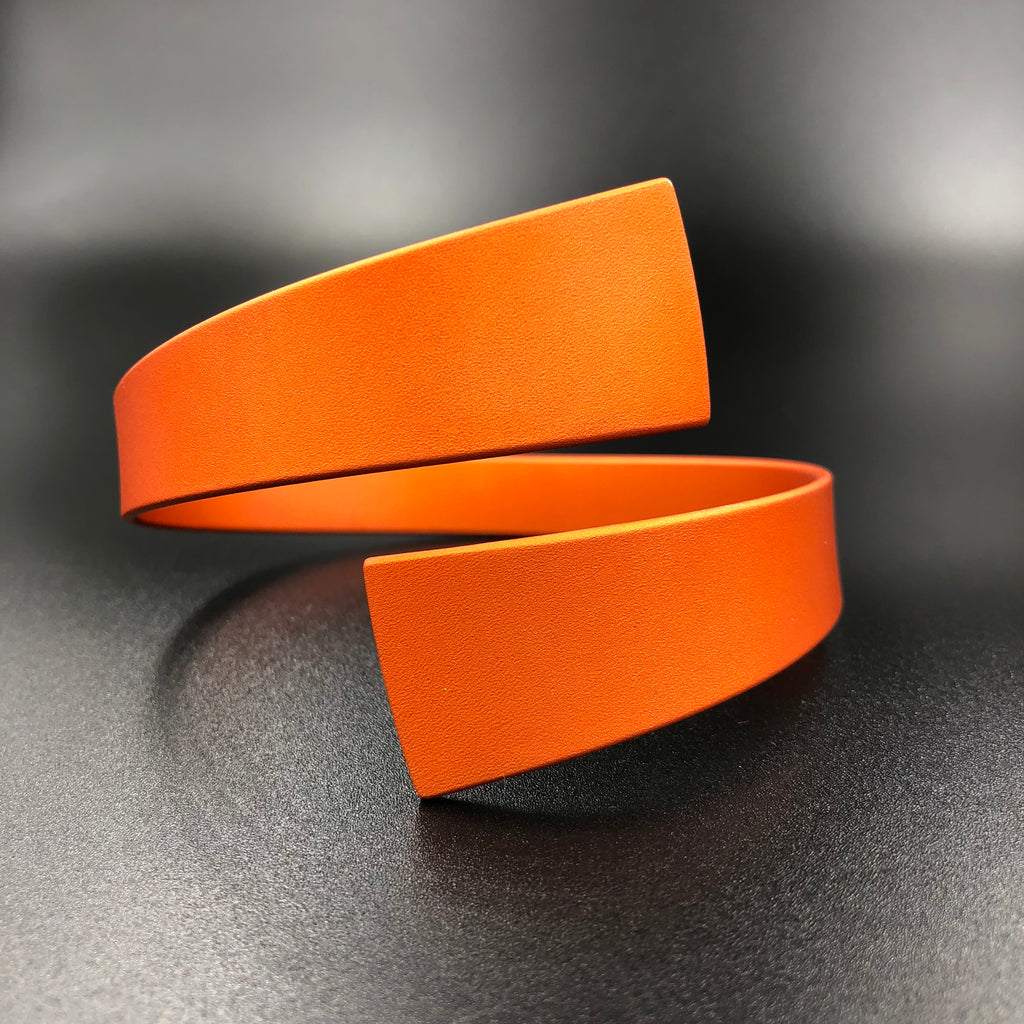 Wrap Bangle - Orange