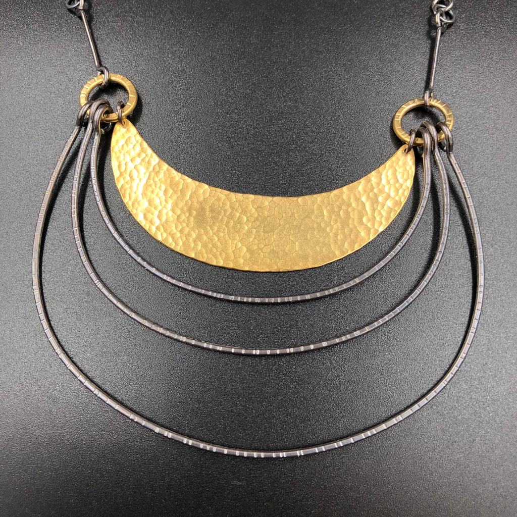 Large Hatch Arch Necklace