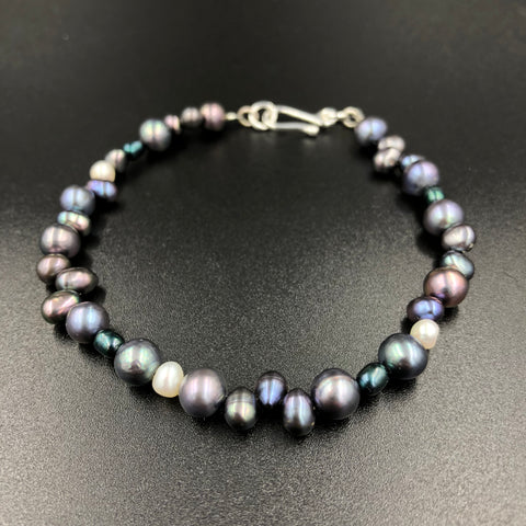 Freshwater Pearl Collage Bracelet