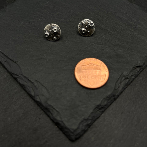 Round Snowflakes Necklace