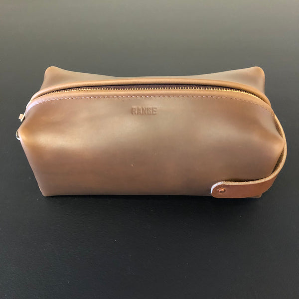 Travellr Case / Dopp Kit - Range Leather