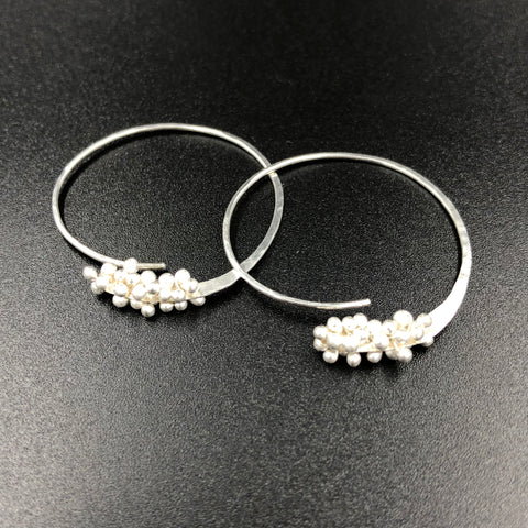 Blooming Hoops Earrings - XS - SS