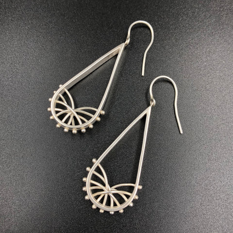 Droplet Arc Earrings - Small