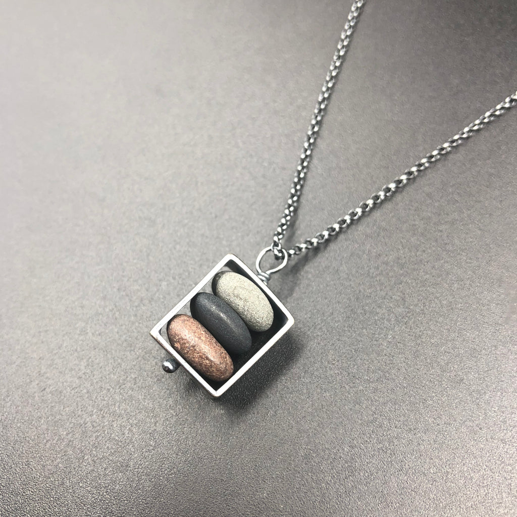 Small Box Necklace