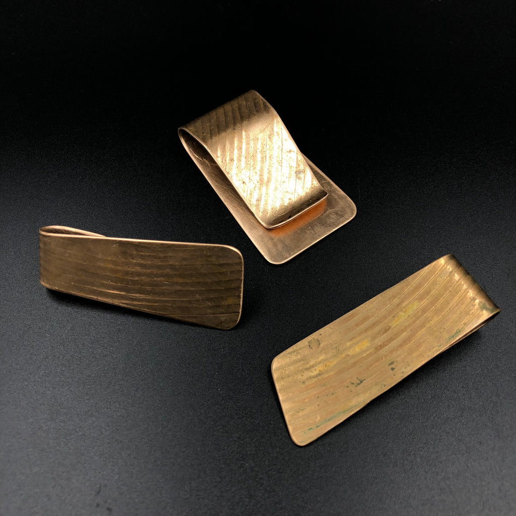 Cymbal Money Clip Upcycled