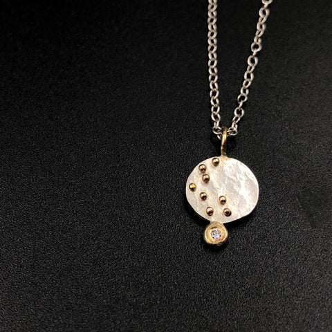 Moon Diamond Necklace