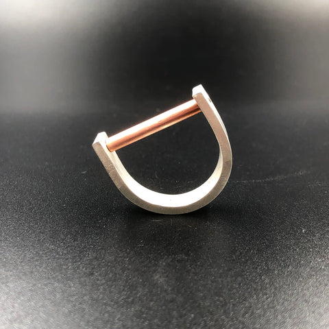Copper Tube Ring