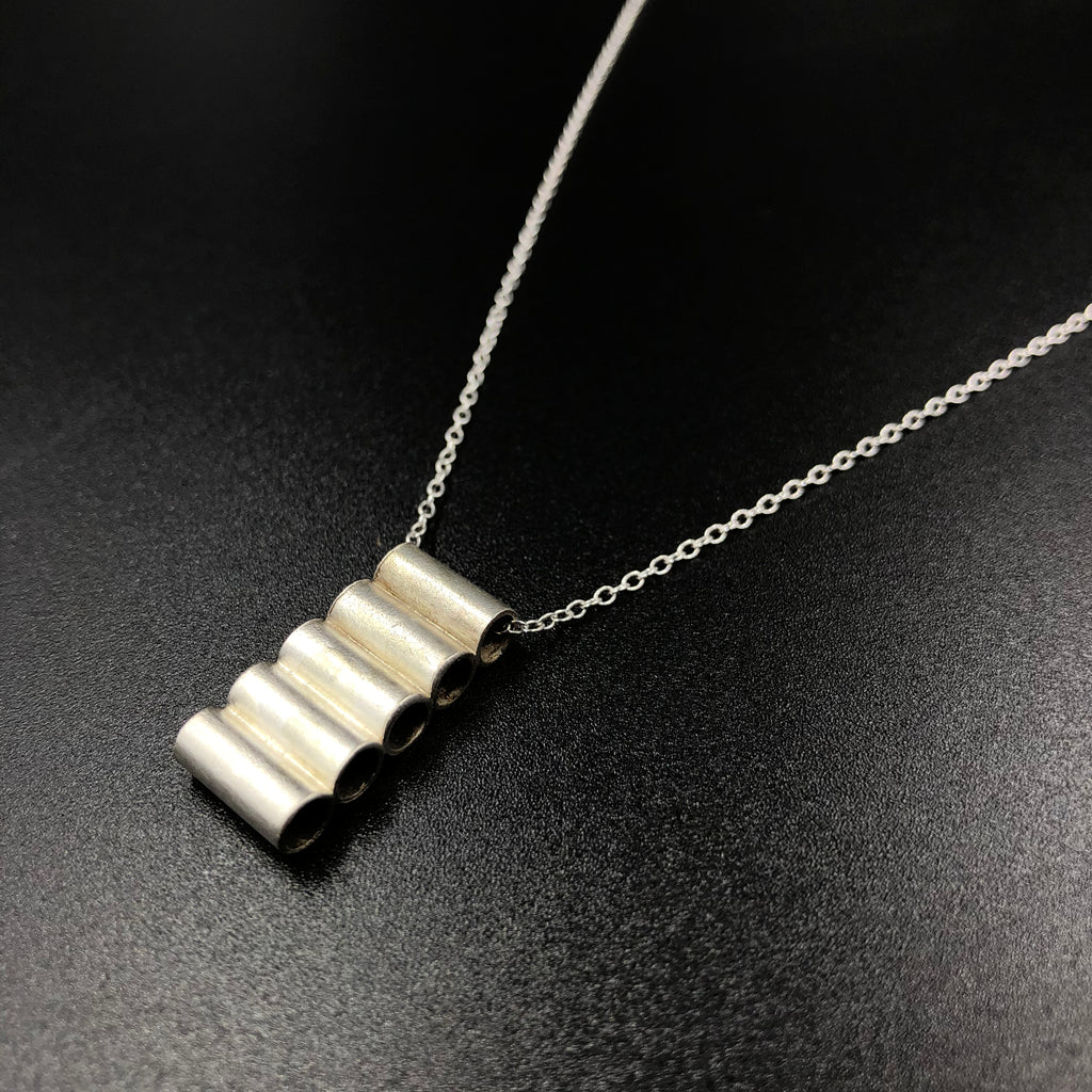 Stacked Cylinders Pendant