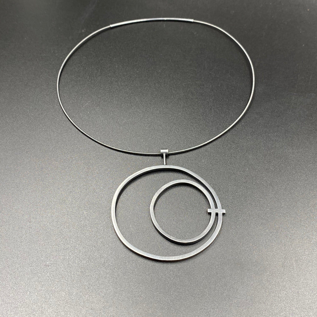 Circle in Circle Necklace - Large