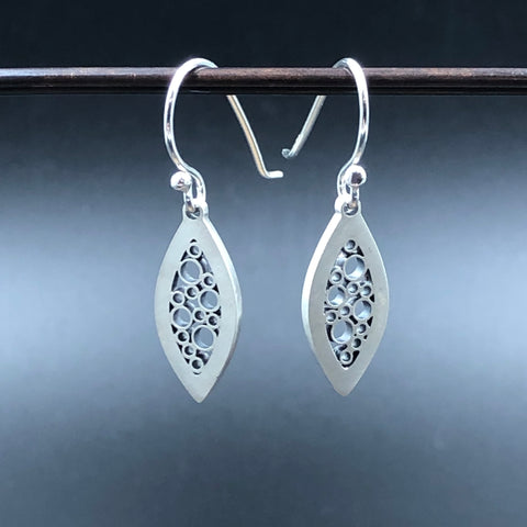 Petite Leaf Dangle Earrings