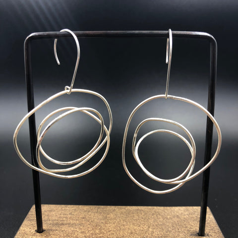 Squiggle Earrings - Large