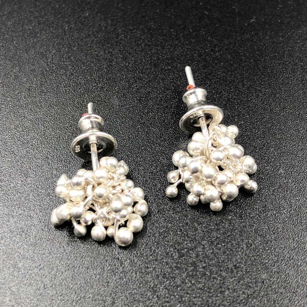 Caviar Stud Earrings - SS