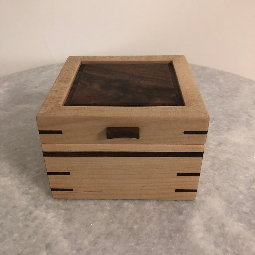 Locking Small Jewelry Box
