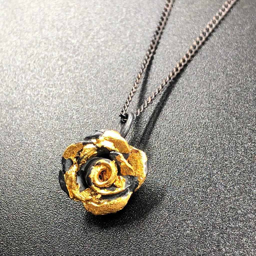 Small Rose Pendant
