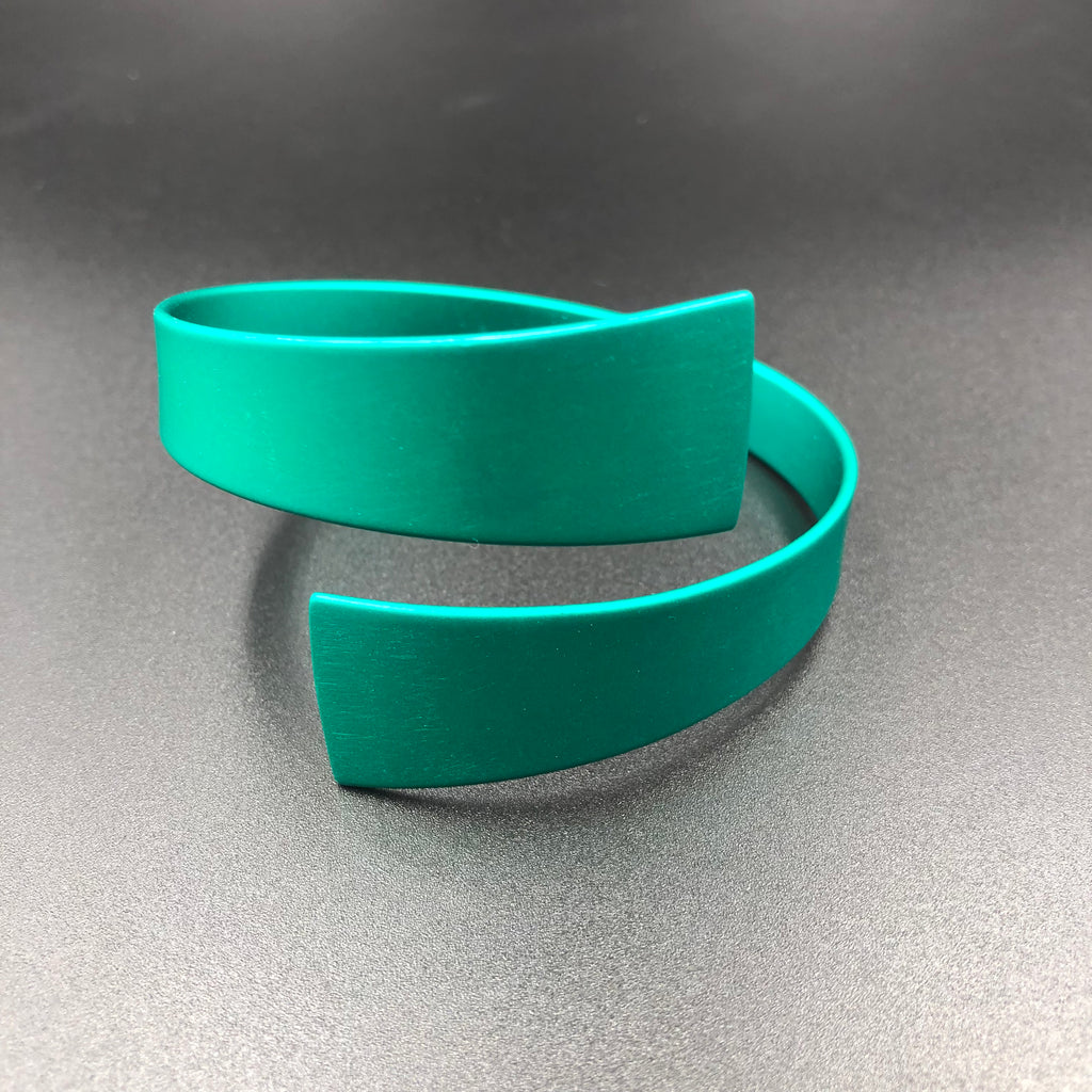 Wrap Bangle - Jade