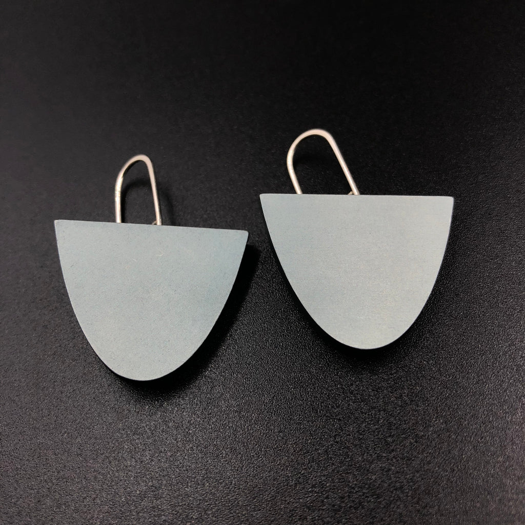 Solstice Earrings - Steel