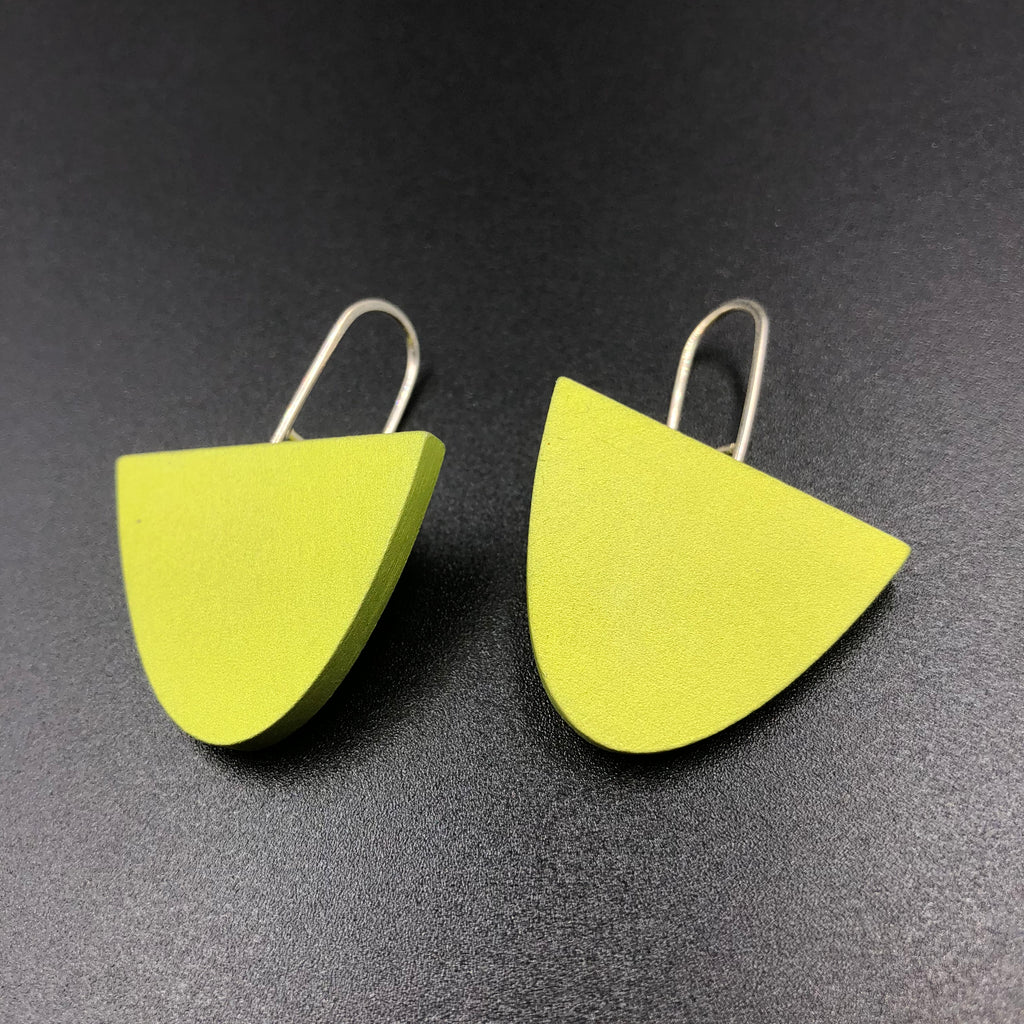 Solstice Earrings - Lime