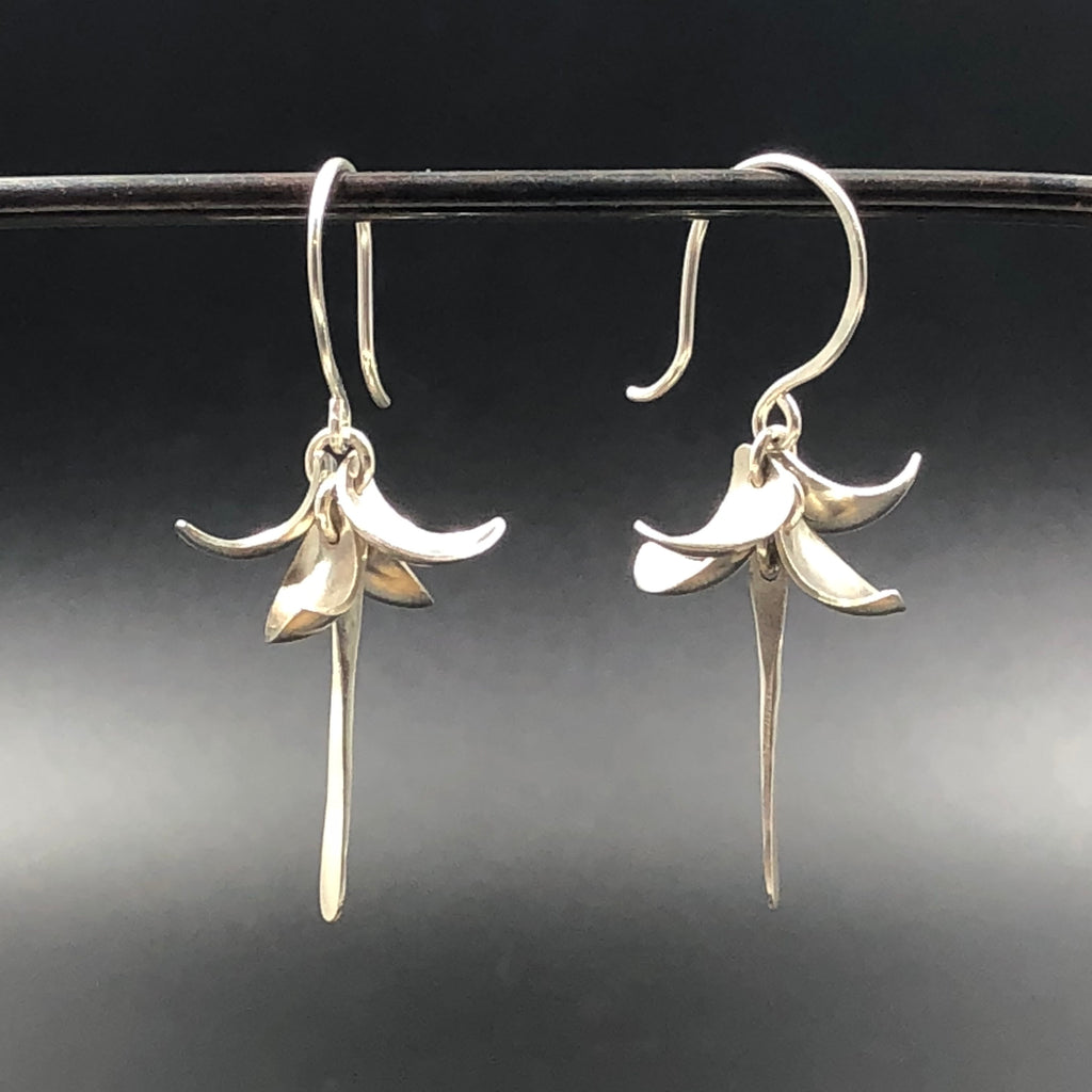 Flower Drop Earrings