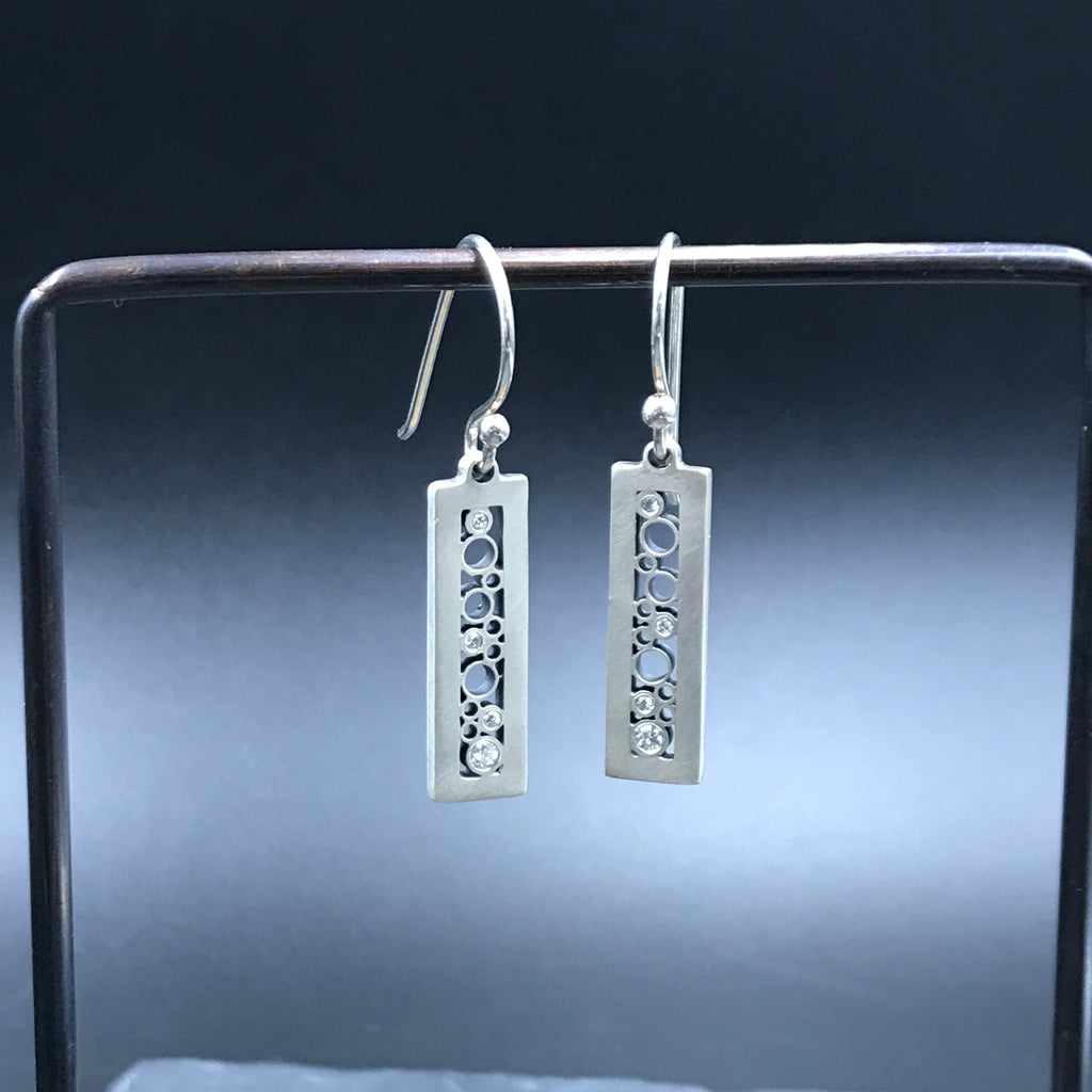 Tall Rectangle Earrings