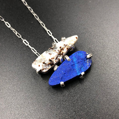 Vertical Mineral Pendant