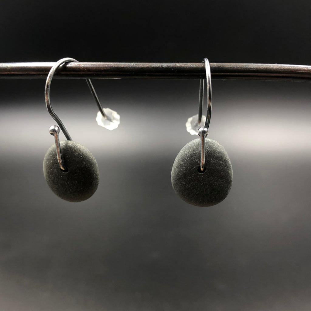Simple Rock Earrings