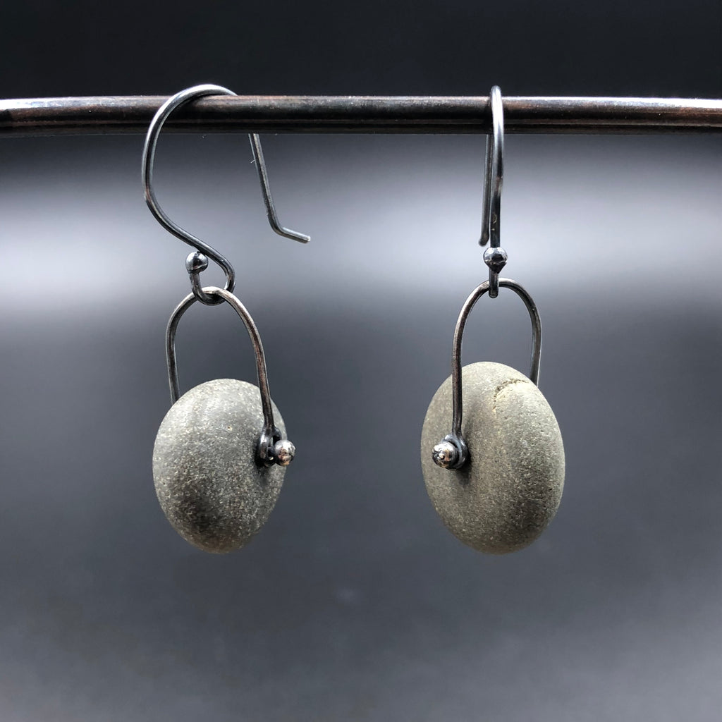 Rivet Rock Earrings