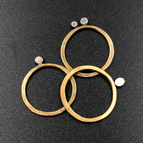 Smashed Stacking Ring