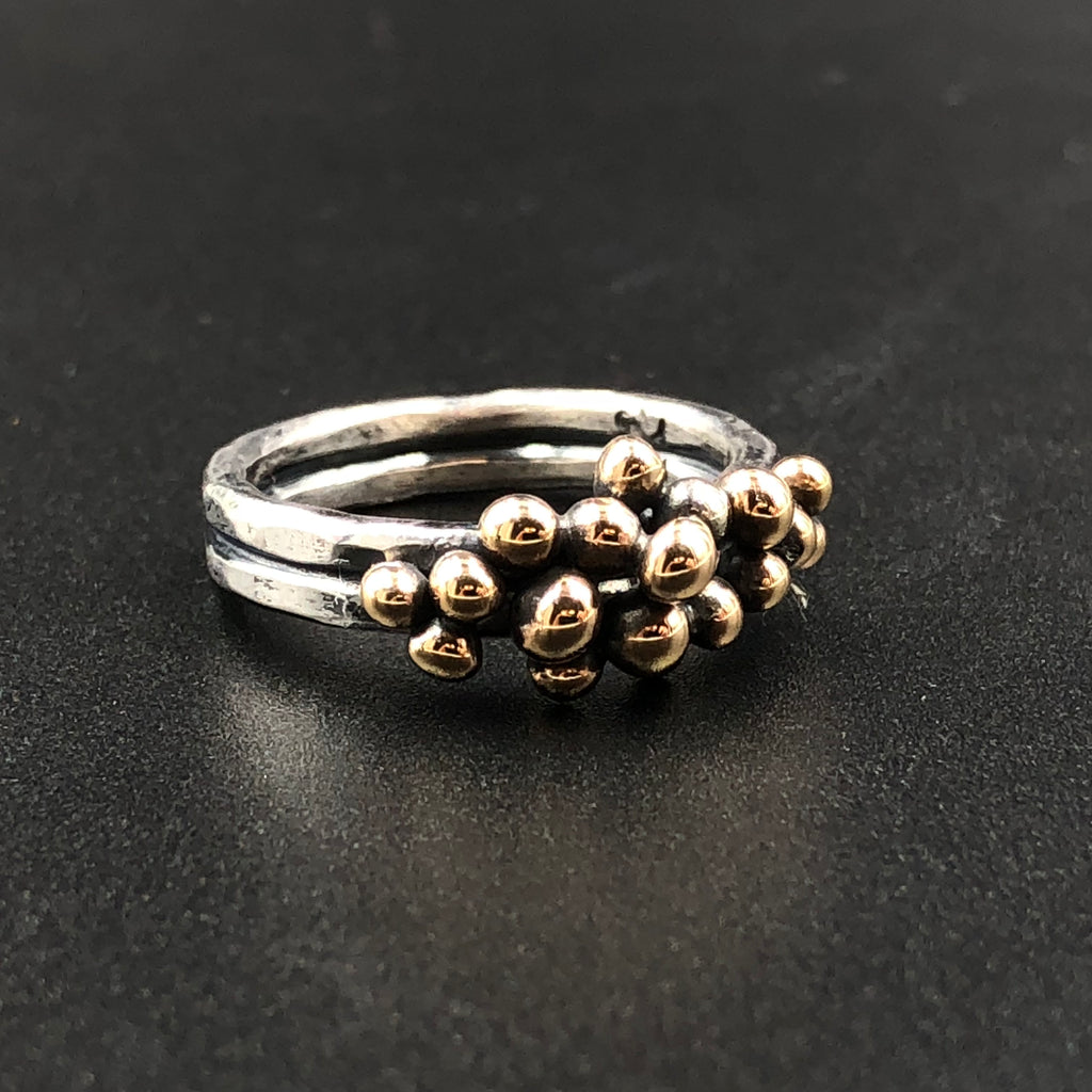 Bronze Bump Ring