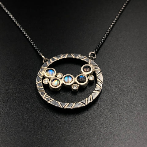 Wandering Moons Necklace