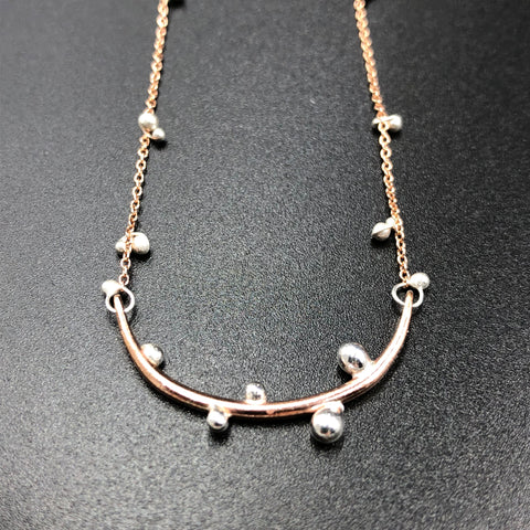 Bulb Bar Necklace - Small - RS
