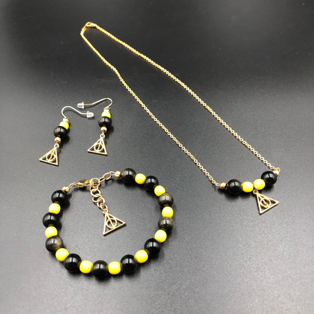 Harry Potter Inspired Hufflepuff Jewelry