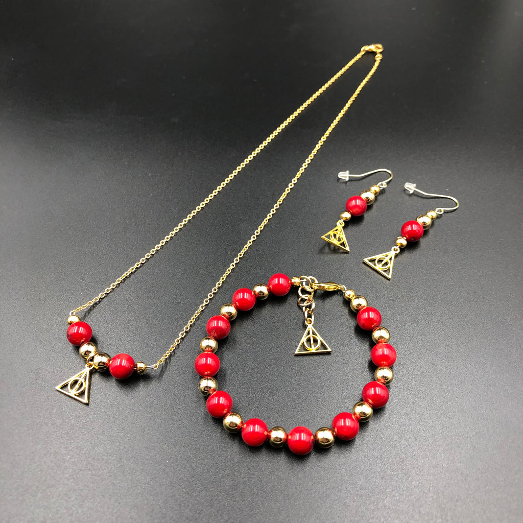 Harry Potter Inspired Gryffindor Jewelry
