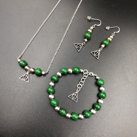 Harry Potter Inspired Slytherin Jewelry
