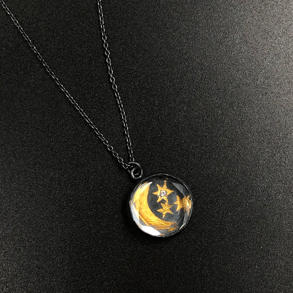 Celestial Sky Talisman Necklace