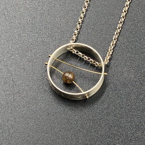 Double Line Game Necklace