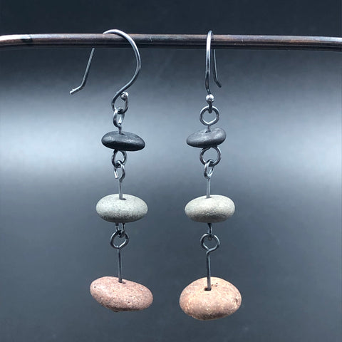 Separated Stack Earrings
