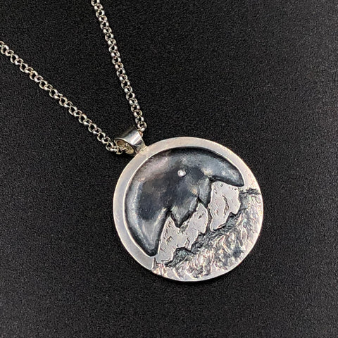 Flatirons at Night Pendant