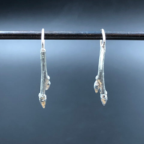 Short Twig Earrings