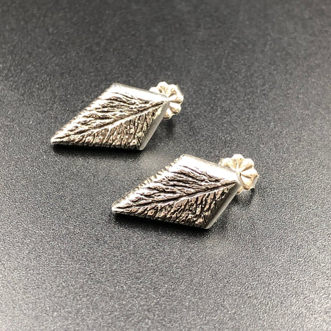 Stylized Feather Earrings