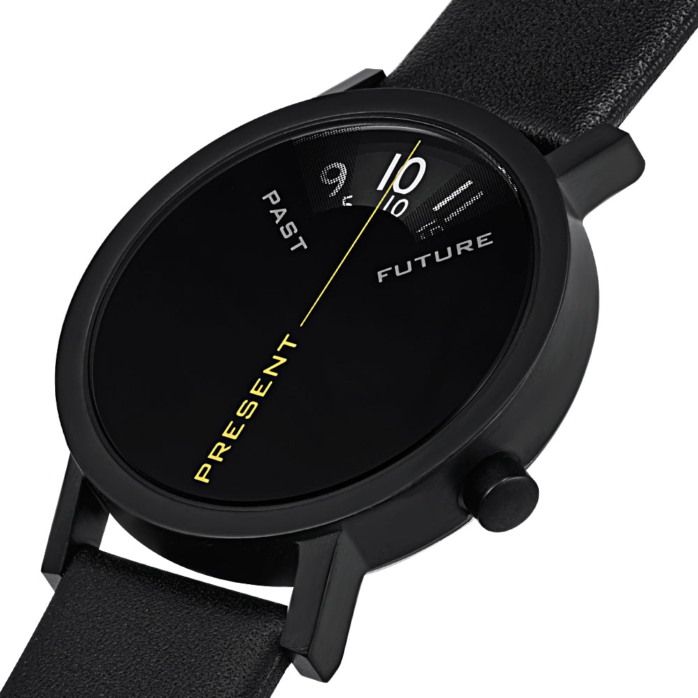 Past, Present, & Future Watch in Black