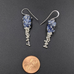 Hybrid Wisteria Earrings with Sapphires SS