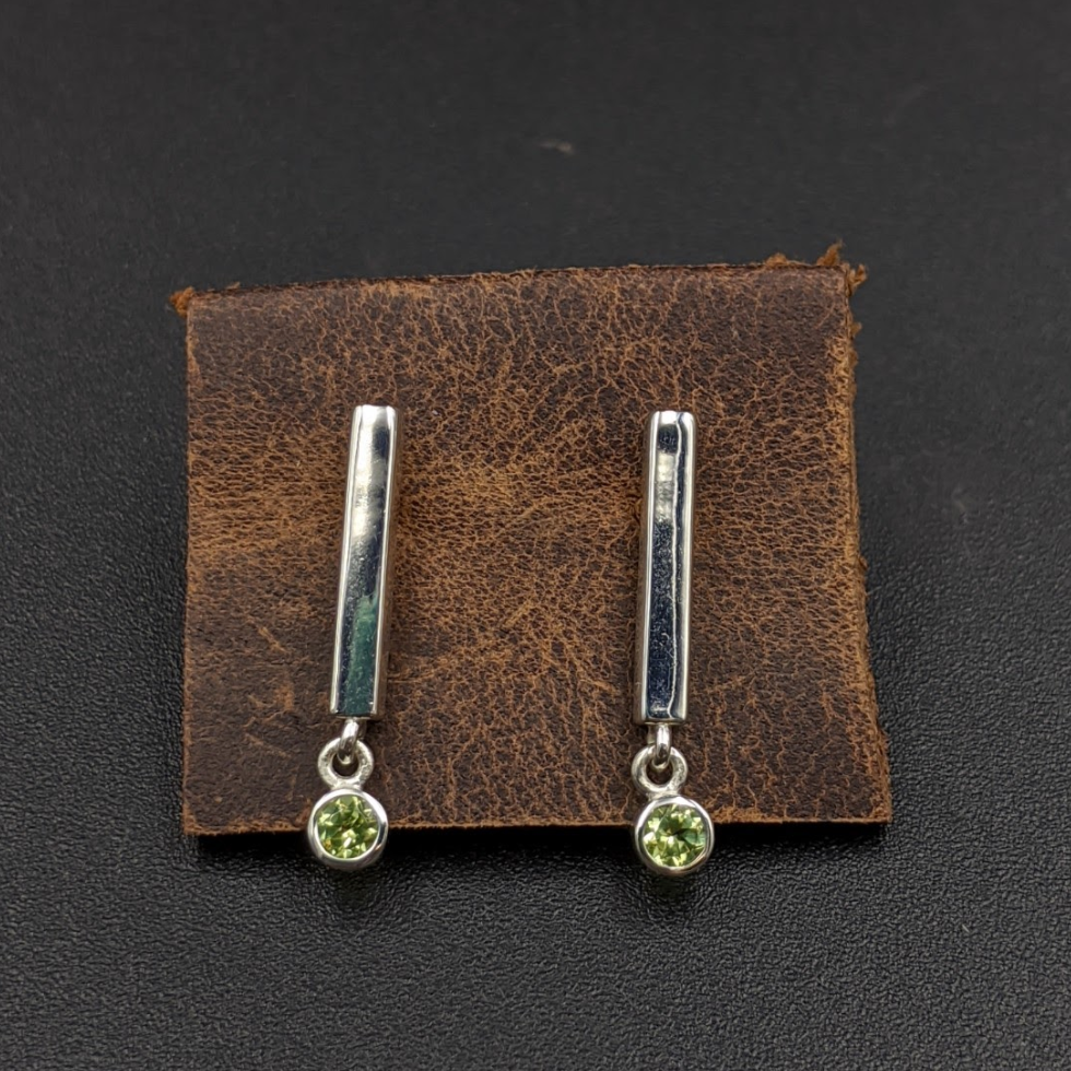 Peridot Dangle Earrings