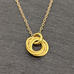 Gold Rings Pendant
