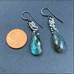 Wisteria Earrings With Labradorite