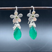 Treasure Chest Earrings With Peridot