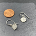 Nostalgia Charm Sterling Silver Earrings With Diamond