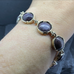 Star Rubies and Agate Bracelet