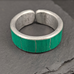 Street Sign Ring - Green